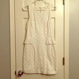 White Lilly Pulitzer Dress